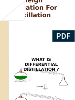 Rayleigh Equation for Distillation