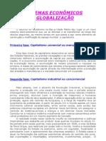 Geografia - Aula 01 - Sistemas Econômicos e Globalização