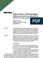 Reflexiones desde la experiencia en ámbitos de la educacion no formal