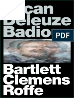 Bartlett, Clemens, Roffe - Lacan Deleuze Badiou - Introduction