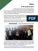Iñamo N° 26 Boletín informativo de Geografía Viva