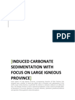 Induced Carbonate Sedimentation with focus on Large Igneous Province