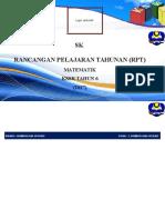 RPT (Matematik) Tahun 6