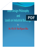 Loads on Industrial Buildings