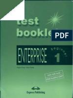 Enterprise 1 Test Booklet