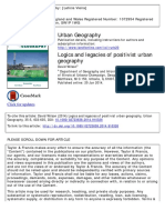 001 - Logics and Legacies of Positivist Urban Geography