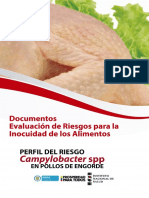 Perfil Campylobacter en Pollos