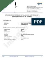 Informe Instalaciones Eléctricas Edificio