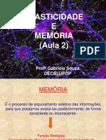 Plasticidade e Memória_aula 2_2016-2