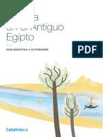 El Agua en El Antiguo Egipto Guia Didactica