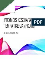 7. Promosi Kesehatan Di Tempat Kerja (PKDTK)_17092014