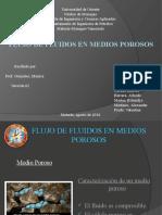Flujo de Fluidos en Medios Porosos