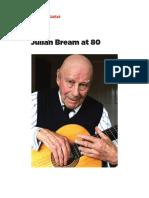 Julian Bream at 80