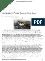 Sejarah Dan Arti Penting Psar Johar