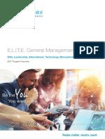 20161201 e.l.i.t.e. Program Brochure Vfinal
