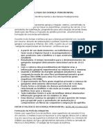 3 - Etiologia Da Doença Periodontal