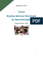 Curso No Es b Sicas Psicologia Da Aprendizagem 09820