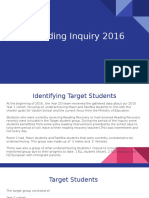 Reading Inquiry 2016