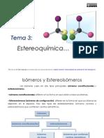 Tema 3 Estereoquímica (Elier Galarraga)