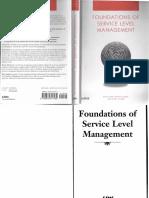 Rick Sturm, Wayne Morris-Foundations of Service Level Management-Sams (2000)