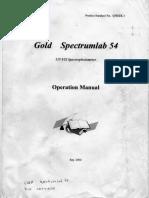 Gold Spectrumlab 54