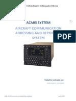Sistema ACARS - Aircraft Communication Adressing and Reporting System - Versão Portuguesa