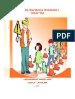 Proyecto Prevención de Riesgos y Desastres