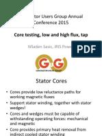 09 Sasic Testing of Stator Cores