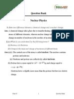 CBSE X Physics Nuclear Physics