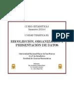 Unidad Temática III- Estadística.i-2016