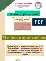 Presentación El Clima Organizacional (1)