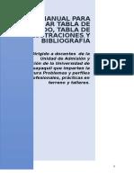 Manual Para Elaborar Tabla de Contenido-1