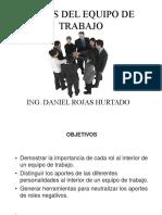Roles Del Equipo de Trabajo