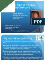 National Aspiring Principals Programme 2015 7