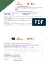 Assignment Frontshet EPD