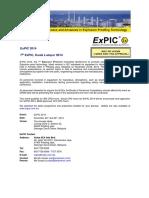 ExPIC 2014 Intro