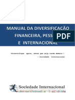 Manual Da Diversificacao Financeira Pessoal e Internacional