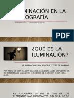 Iluminación.fotografía