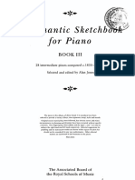 A Romantic Sketchbook for Piano