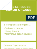 Organ Donor Issues