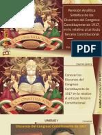 Revisión Art 3 de La Constitución de 1917