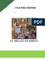 Didactica Para a Ensenar El Ingles en Ninos