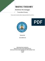Nursing Theory Madeleine m. Leiningger