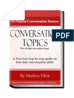 eBook 54 Conversation Topics by Schoolofsocialskills.com