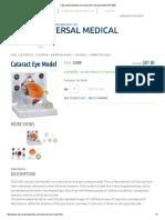 Cataract Eye Model _ Oversized Normal Eye Model GPI 2800