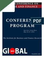 Program Costa Rica 2016 Pre