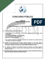 Técnico de Enfermagem-Prefeitura de Limoeiro Ajuru
