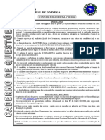 Técnico de Enfermagem-Prefeitura Municipal de Divinésia-MG