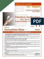 Técnico Judiciário Enfermagem TRT 16Região2