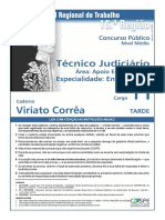 Técnico Judiciário Enfermagem TRT 16Região3